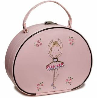 Katz vanity case, dance handbag, pink, lilac