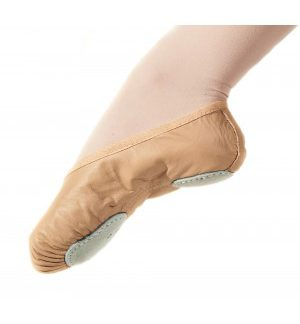 Elite brand split-sole leather ballet shoe