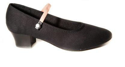 Elite brand of canvas cuban heel syllabus shoe