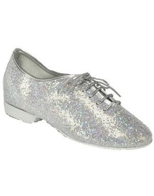 Silver Hologram Full-Sole jazz shoe