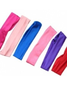Headbands, Nylon Lycra, ideal for dance, many colours