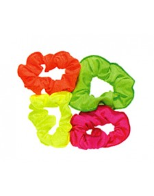 Nylon Scrunchies ideal for dance. lots of colours