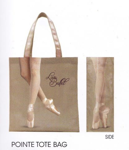 'get the Pointe' capezio shopper bag