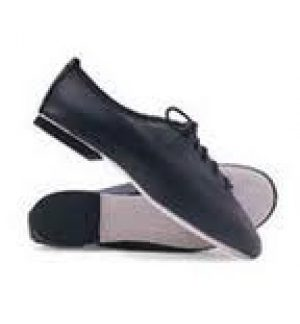 jazz shoes, full sole leather with suede sole