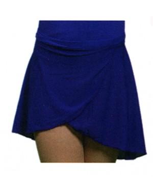 Wrap-over skirt, Navy or Purple,tie waist
