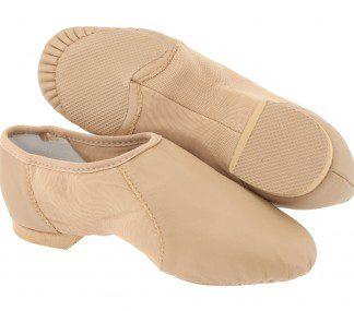 Bloch neo-flex S0495 Tan slip on jazz shoe