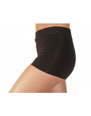 Shaped front cotton hotpants for dance
